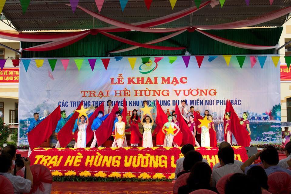 Trường THPT Chuyên Hạ Long tham dự trại hè Hùng Vương lần thứ XI